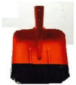 Лопата Совковая (желтый) 0,8